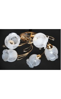 Классическая Люстра SVLIGHT пятиламповая M99019/5 золото
