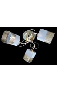 Классическая Люстра SVLIGHT трехламповая 2142A/3 золото