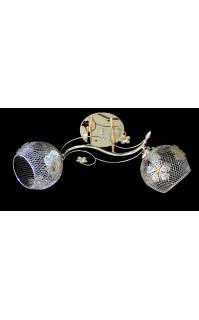 Классическая Люстра SVLIGHT двухламповая 2200/2A золото
