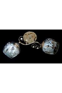 Классическая Люстра SVLIGHT двухламповая 2206/2 золото