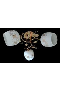 Декоративная Люстра SVLIGHT трехламповая 2211/3A золото