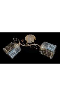 Классическая Люстра SVLIGHT двухламповая 5270/2B золото