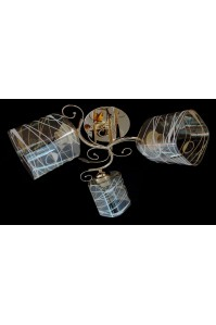 Классическая Люстра SVLIGHT трехламповая 5270/3B золото