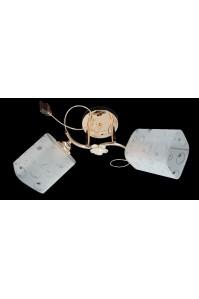 Классическая Люстра SVLIGHT двухламповая 643A/2 золото