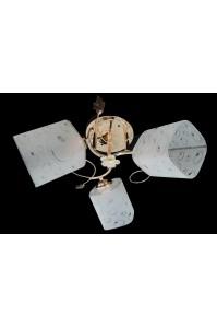 Классическая Люстра SVLIGHT трехламповая 643A/3 золото