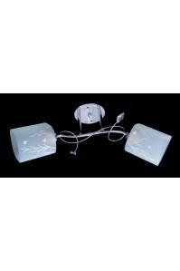 Классическая Люстра SVLIGHT двухламповая 650/2B хром