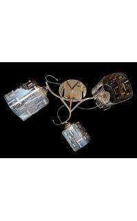 Классическая Люстра SVLIGHT трехламповая 75739A/3 золото