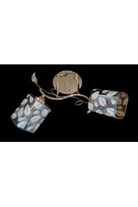 Классическая Люстра SVLIGHT двухламповая 75765A/2 золото