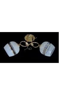 Классическая Люстра SVLIGHT двухламповая 9320A/2 золото