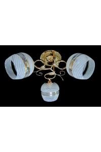 Классическая Люстра SVLIGHT трехламповая 9320A/3 золото