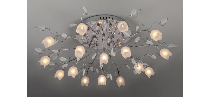 Правильно подобранные светильники создают в комнате уют и добавляют ей привлекательность