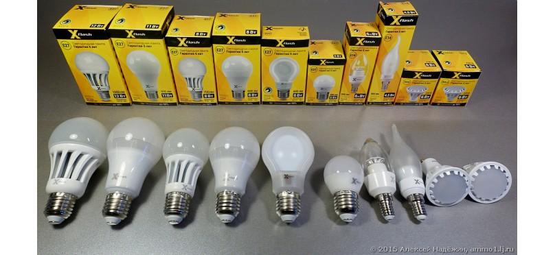 Светодиодные лампы Е27 - описание, особенности, модификации