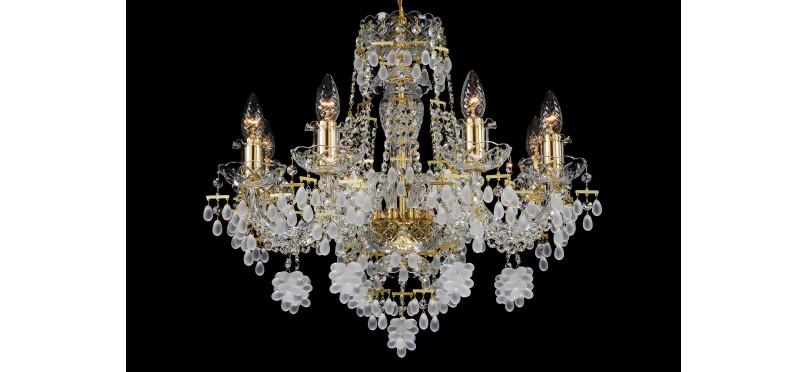 Выбрать и купить хрустальную люстру в Харькове недорого можно в магазине SVLight
