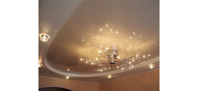 Оригинальное освещение для натяжных потолков - лучшие модели в магазине SVLight