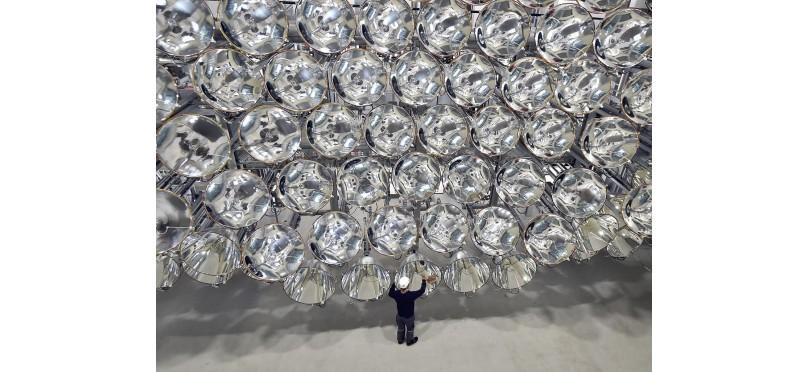 Ученые включили «самое большое искусственное солнце в мире» - невероятный светильник